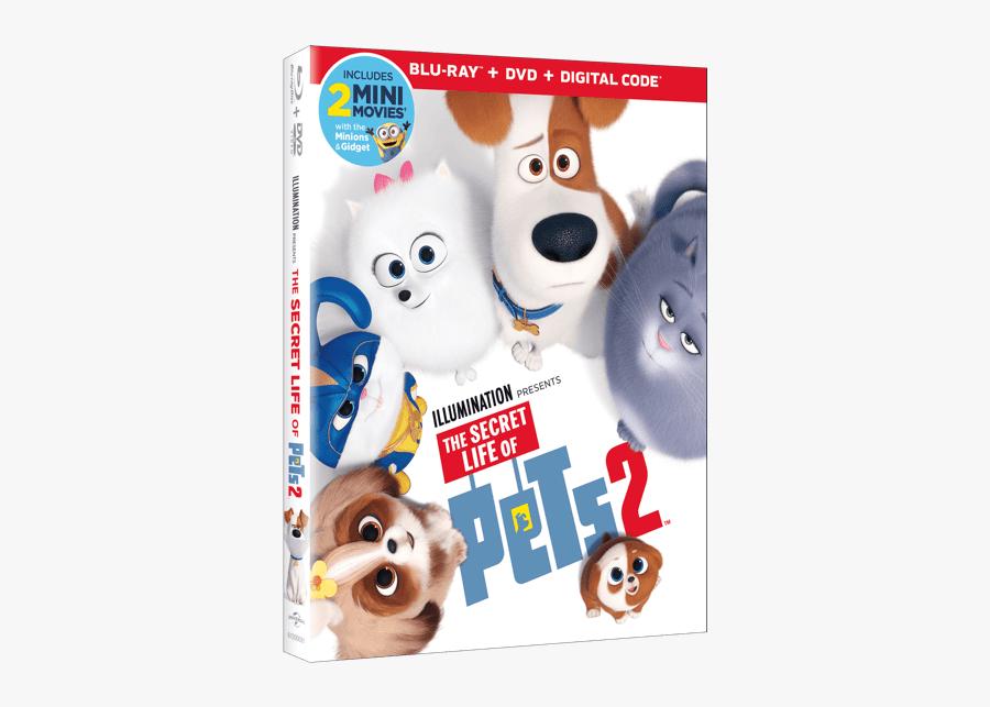 Secret Life Of Pets 2 Blu Ray, Transparent Clipart