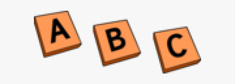 Letter Tiles Cliparts - Alphabet Letter Tiles Clipart, Transparent Clipart