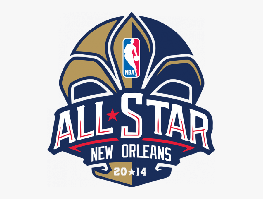 Transparent New Orlean Saints Clipart - 2014 Nba All-star Game, Transparent Clipart