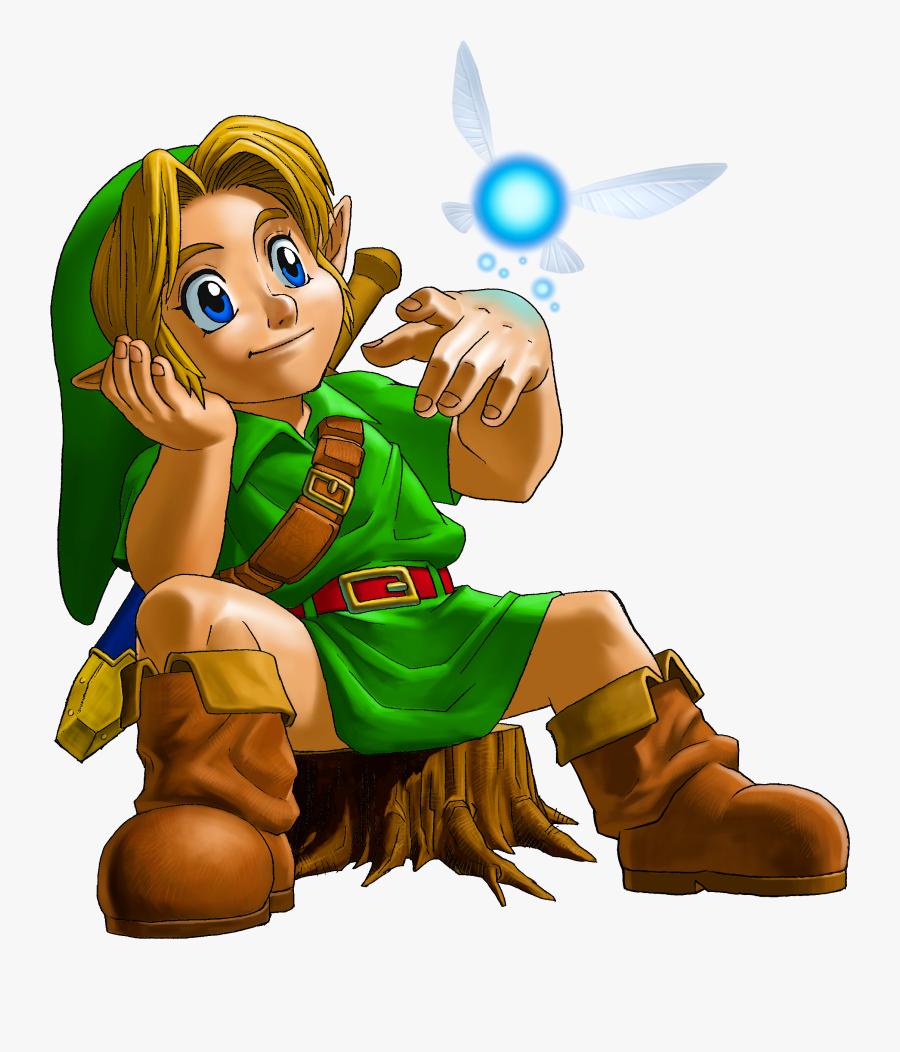 The Legend Of Zelda Clipart Zelda Little Link , Png - Legend Of Zelda Majora's Mask Link, Transparent Clipart