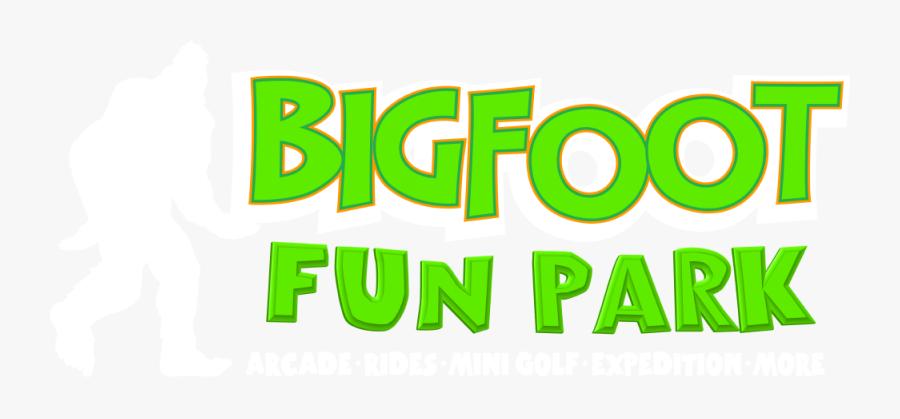 Bigfoot Fun Park - Poster, Transparent Clipart