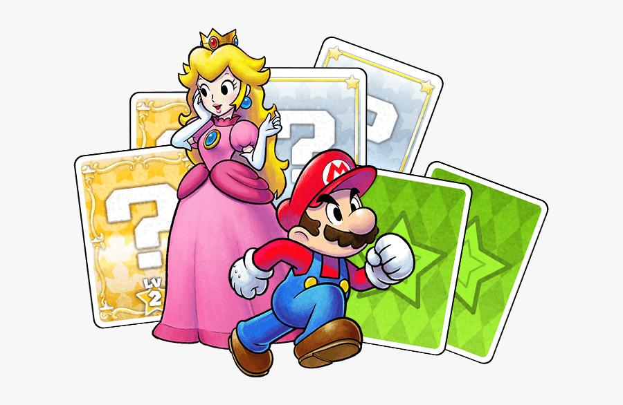 Main-intro - Mario And Luigi Paper Jam Png, Transparent Clipart