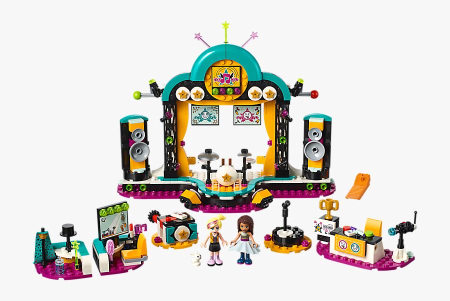 """Andrea""""s Talent Show - Lego Friends Andrea's Talent Show, Transparent Clipart"""