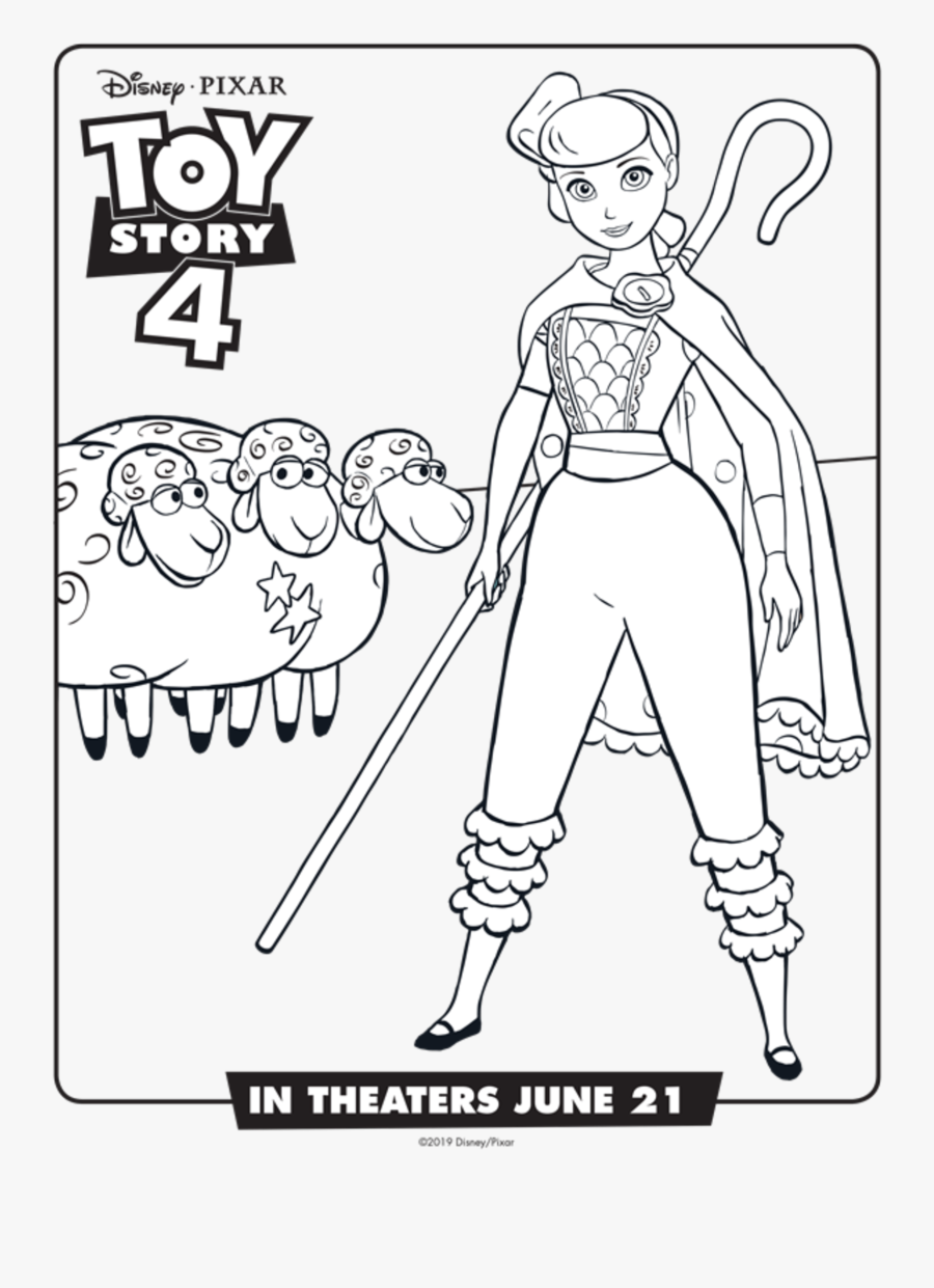 Printable Toy Story 4 Coloring Pages Free Transparent Clipart Clipartkey