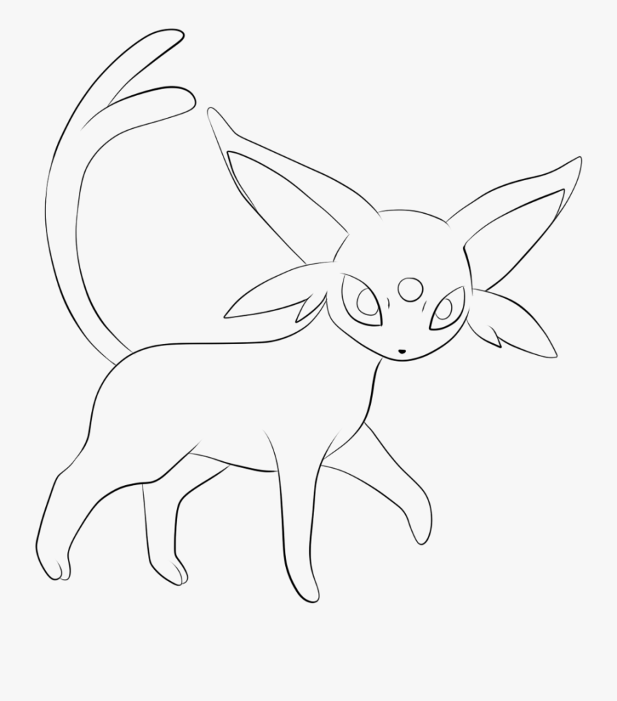Pokemon Coloring Pages Umbreon In Sylveon Page Espeon Pokemon Drawing Free Transparent Clipart Clipartkey