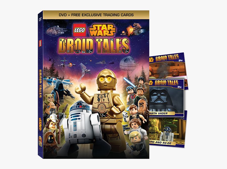 Lego Star Wars - Lego Star Wars Droid Tales, Transparent Clipart