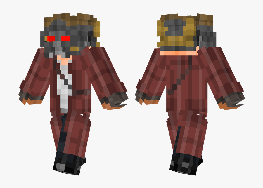 Boss Steve Minecraft Skin , Png Download - Guardians Of The Galaxy Star Lord Minecraft Skin, Transparent Clipart