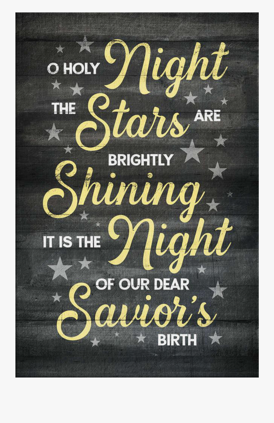 """o Holy Night - Poster, Transparent Clipart"