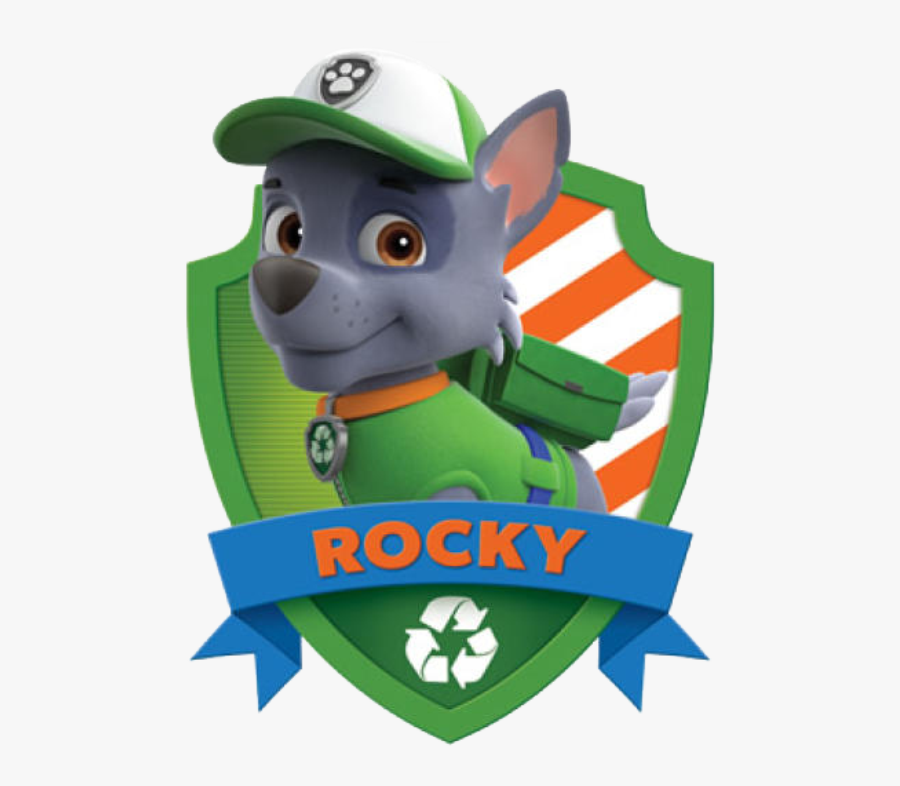 transparent rocky balboa clipart  rocky paw patrol png