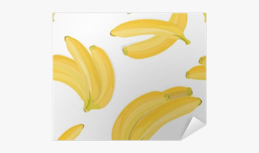 Drawn Banana Transparent - Saba Banana, Transparent Clipart