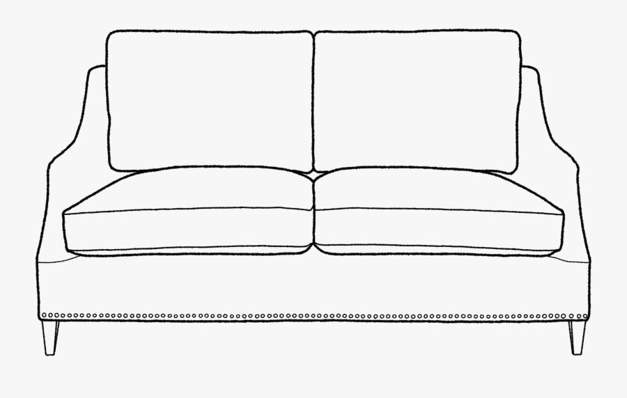 Transparent Sofa Clipart Furniture Drawing Free Free