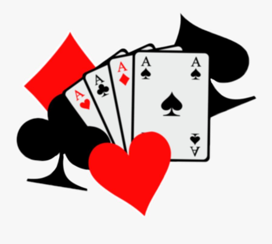 #playingcards #cards #redandblack #poker #pokar #ftestickers - Poker Card Clip Art, Transparent Clipart