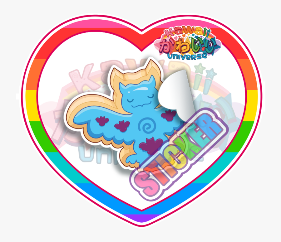 Kawaii Heart Png - Kawaii Strawberry Cute Kawaii Strawberry Stickers, Transparent Clipart