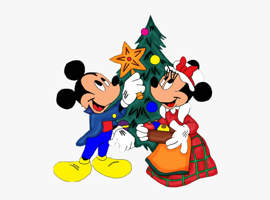 disney christmas cartoon characters mickey and minnie christmas png free transparent clipart clipartkey disney christmas cartoon characters