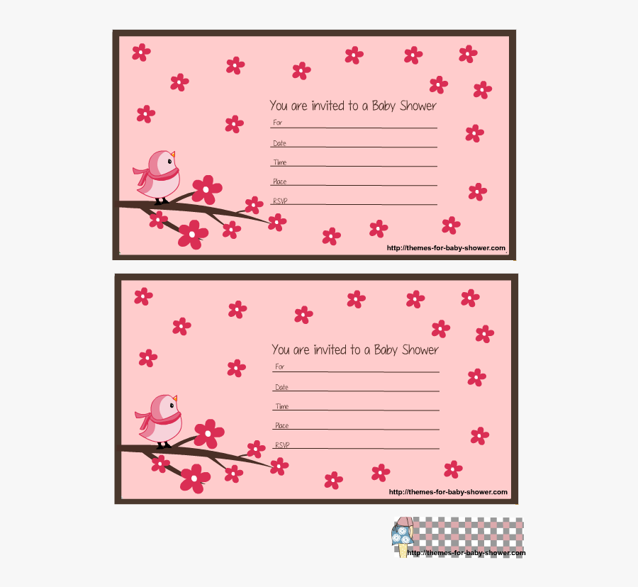 Transparent Nautical Baby Shower Clipart - Pink Baby Shower Invitations Printables, Transparent Clipart