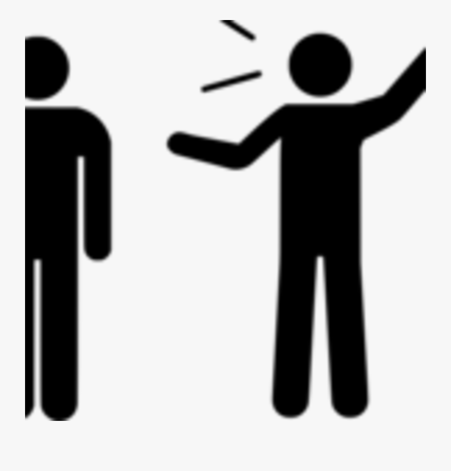 People Talking Stick Figures, Transparent Clipart
