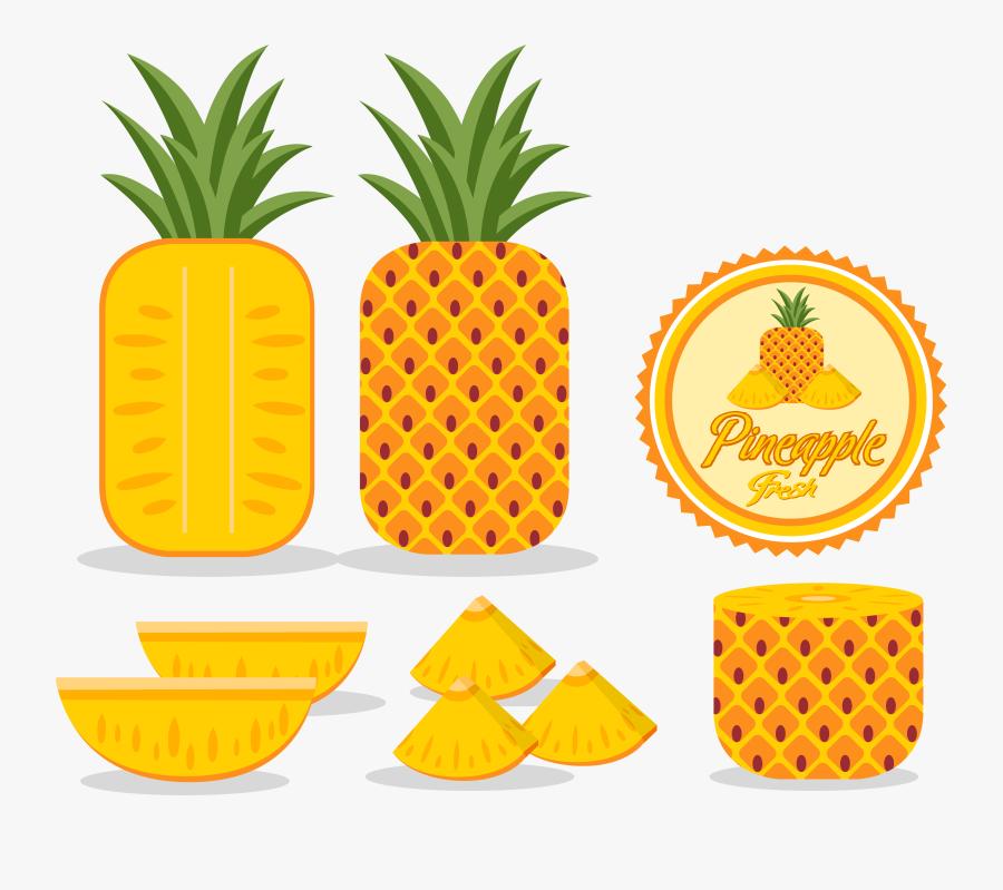 Adobe Illustrator Logo Yellow - Outline Drawing Pineapple Shape, Transparent Clipart