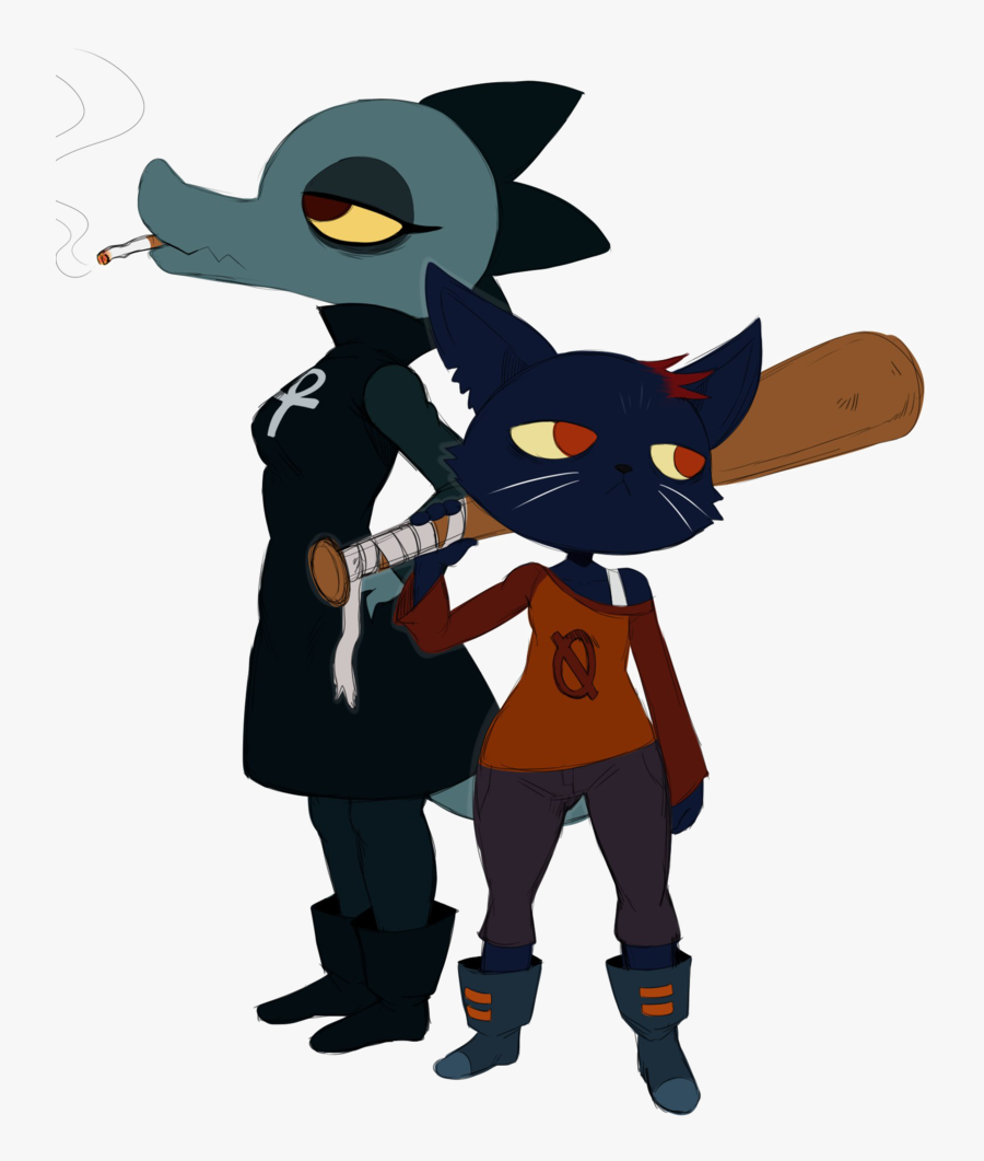 Night In The Woods Png File - Night In The Woods Bea, Transparent Clipart