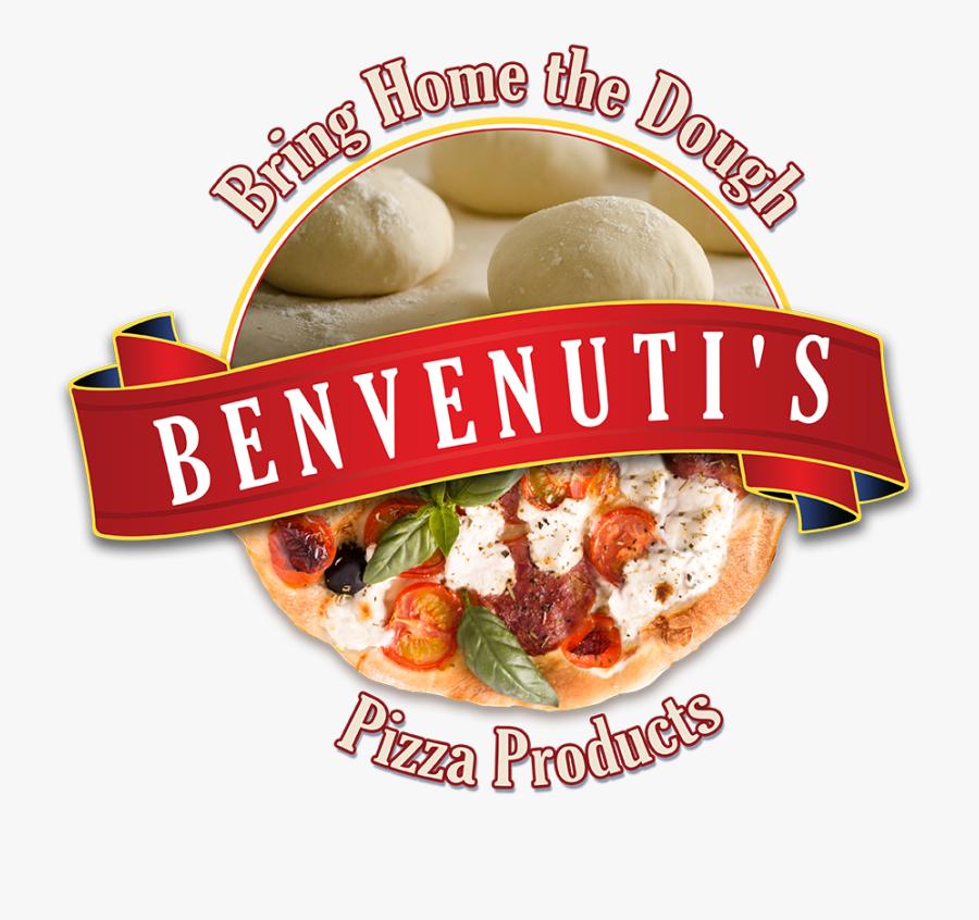 "Why Benvenuti""s Fresh Dough Pizza Kits - California-style Pizza, Transparent Clipart"