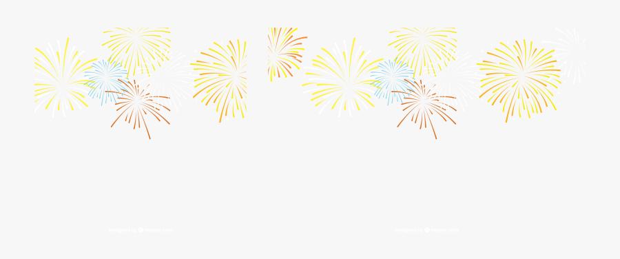 Firework Clipart Celebration - Fireworks, Transparent Clipart