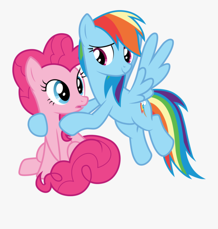 Cloudyglow, Cute, Dashabetes, Diapinkes, Hug, Lesbian, - My Little Pony Pinkie Pie And Rainbow Dash, Transparent Clipart
