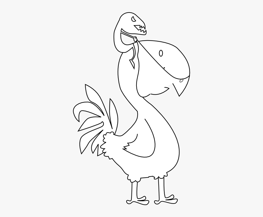Peace Peace Dove Twitter Bird 25 Black White Line Art - Illustration, Transparent Clipart