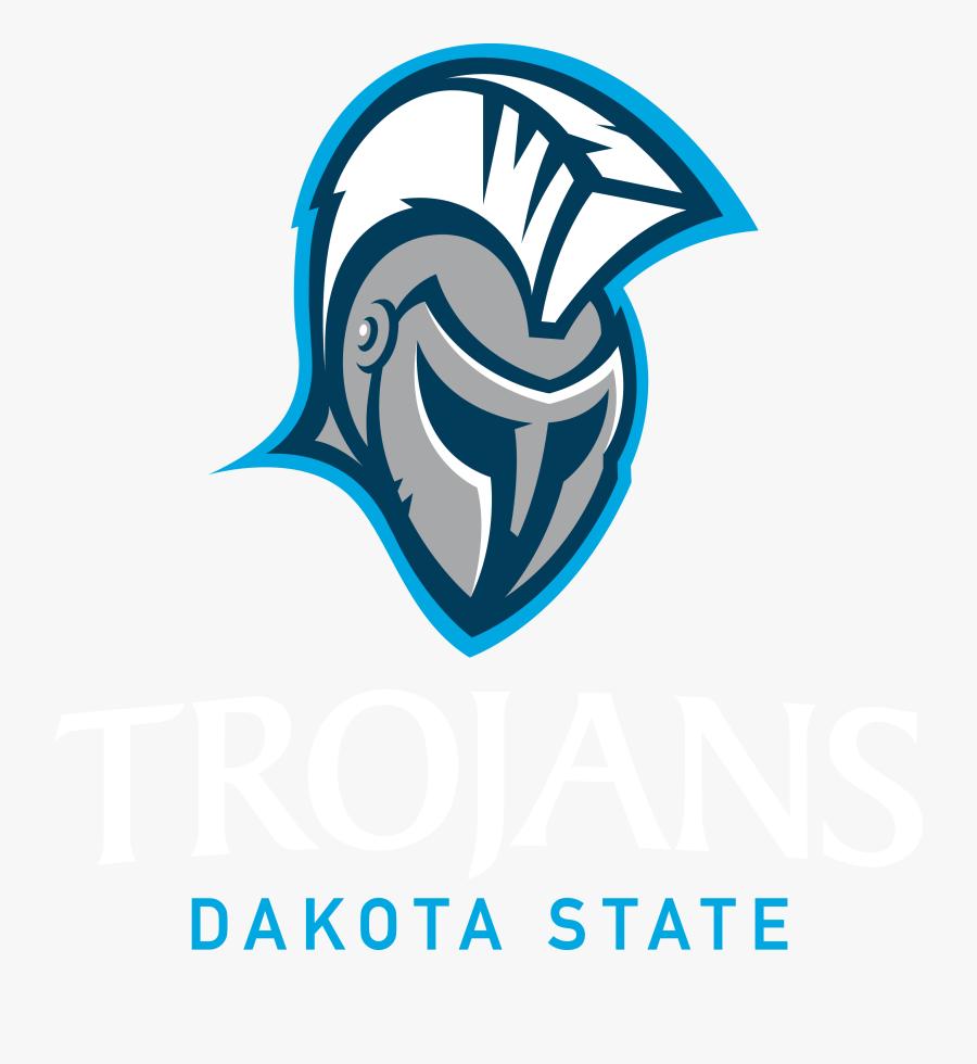 Trojans - Dakota State Trojans Logo, Transparent Clipart