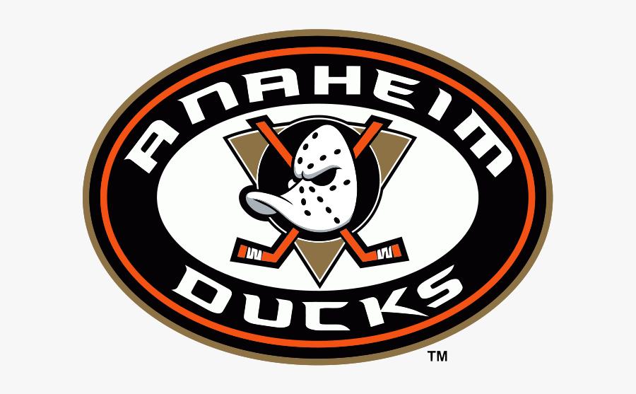 Anaheim Ducks Alt Logo, Transparent Clipart