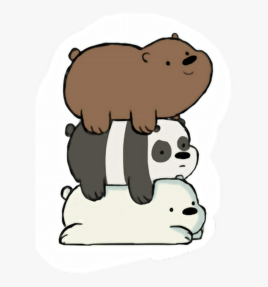 Transparent We Bare Bears Png - Printable We Bare Bears Stickers, Transparent Clipart