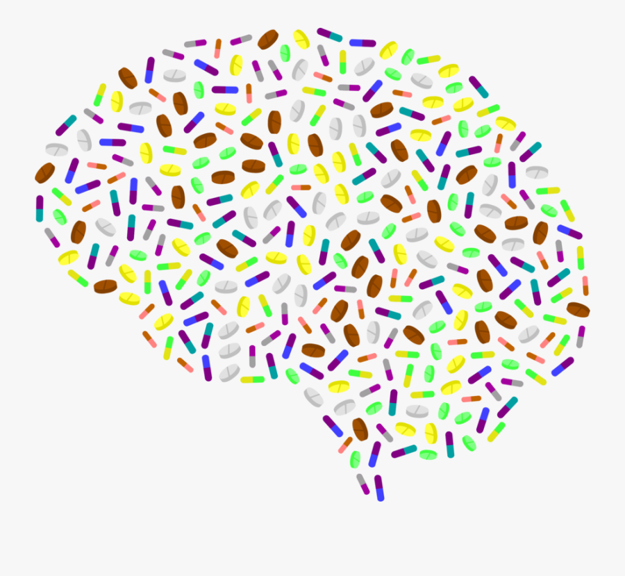 Line,brain,human Brain - Brain Art, Transparent Clipart