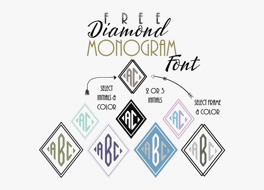 Clip Art Free Diamond Customize Online 2 Letter Monogram Maker Free Free Transparent Clipart Clipartkey