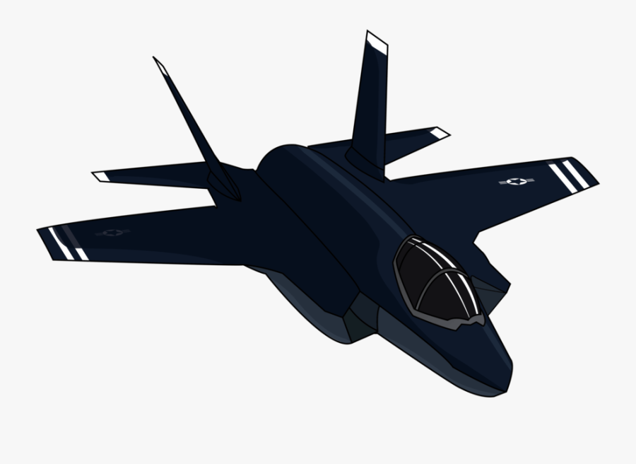 F - F 35 Lightning Ii Vector, Transparent Clipart