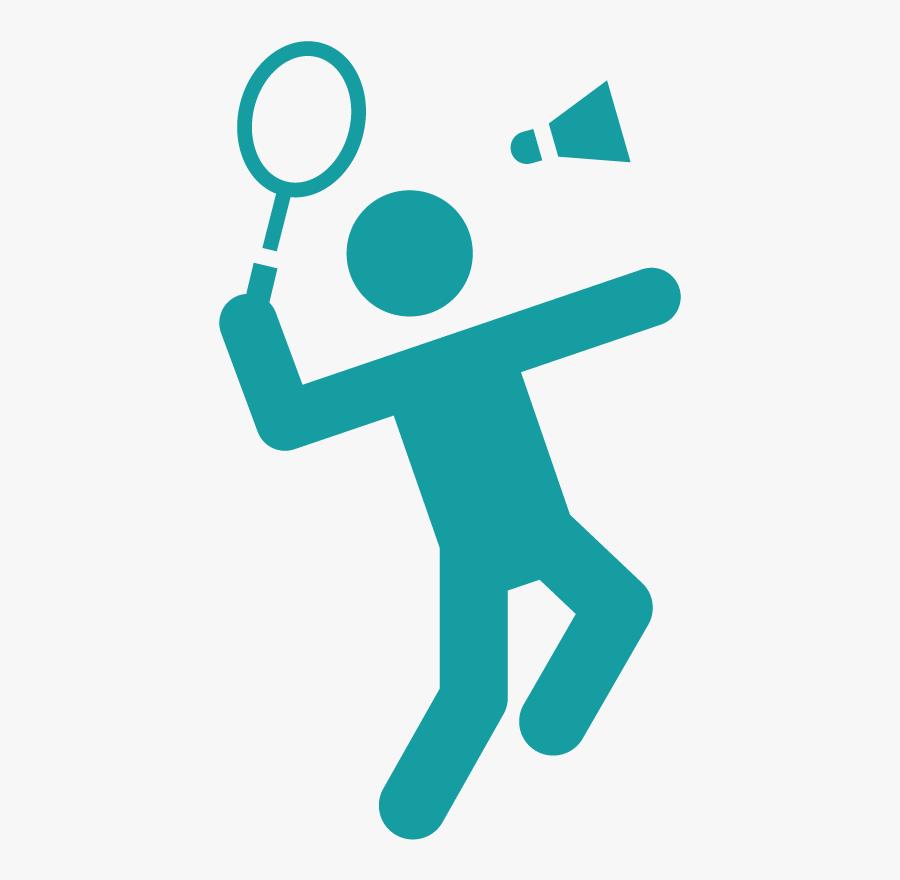 Olympic Badminton Sport Logo Free Transparent Clipart Clipartkey