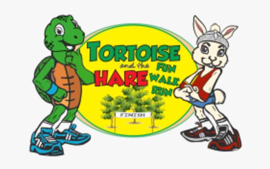 Tortoise And Hare Fun Walk Run - Tortoise Fun Run, Transparent Clipart