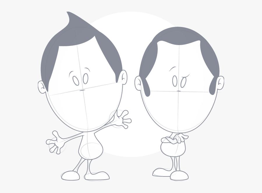 Characters - Cartoon, Transparent Clipart