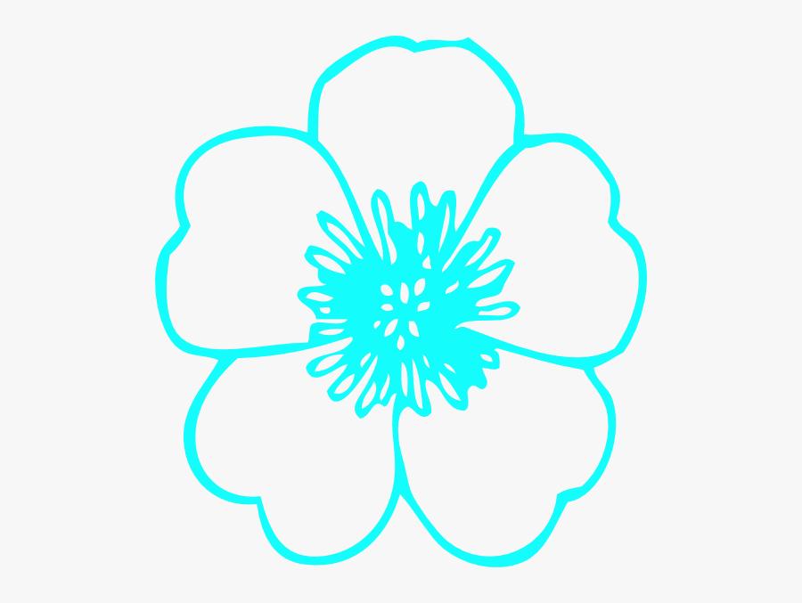 Black White Flower Clip Art - Flower Clip Art Free, Transparent Clipart
