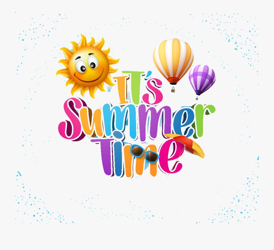 Summer Vectors Png Elements - Transparent Summer Sun Png, Transparent Clipart
