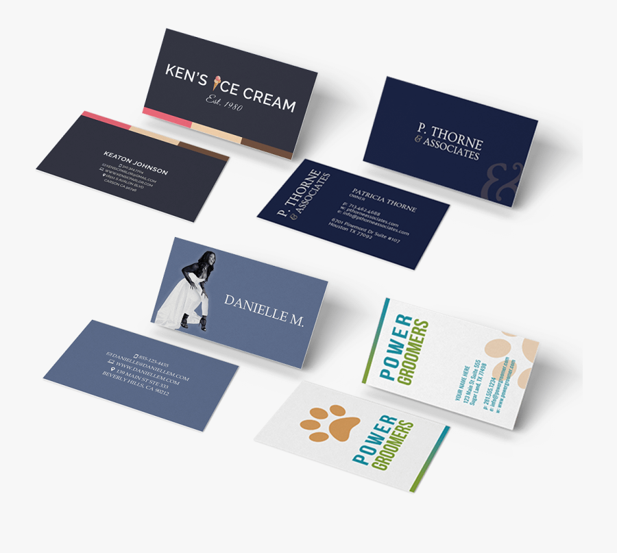 Clip Art Business Cards Creative - Business Card Design Ideas For Agency, Transparent Clipart