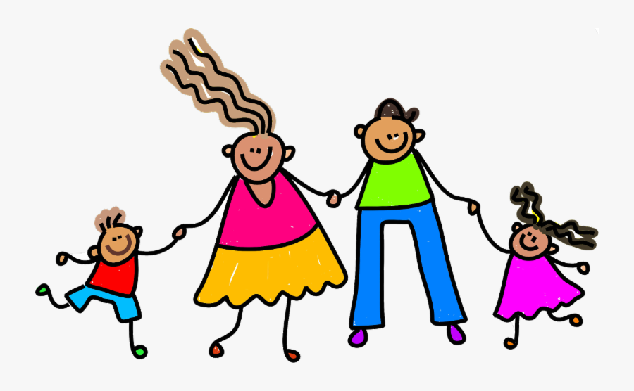 Keeping Your Kindergartner Safe From Lead - Happy Family Clip Art, Transparent Clipart