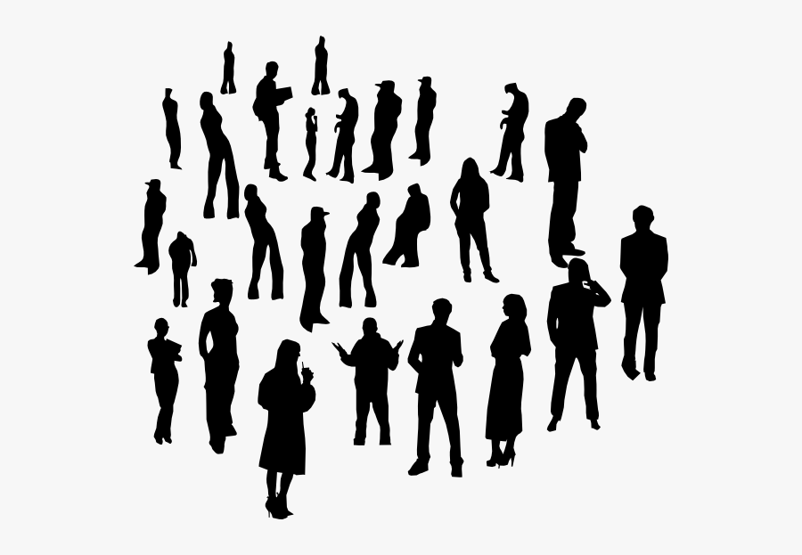 Individual Social Group Human Behavior Person - Crowd Of Individual People, Transparent Clipart