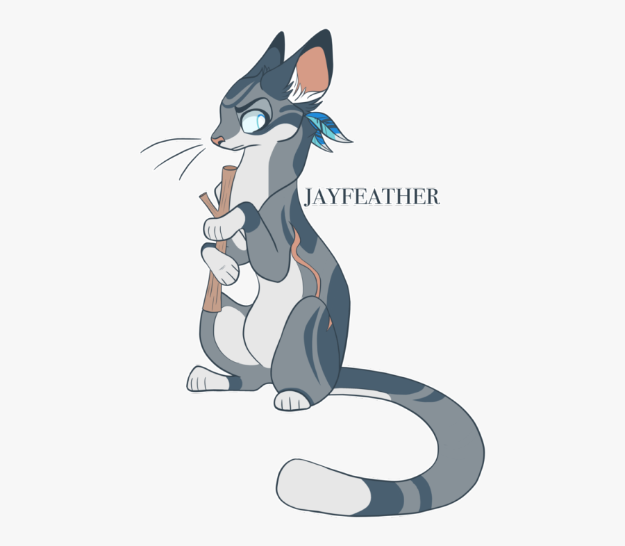 Warrior Cats Designs - Warrior Cats Jayfeather X Stick, Transparent Clipart