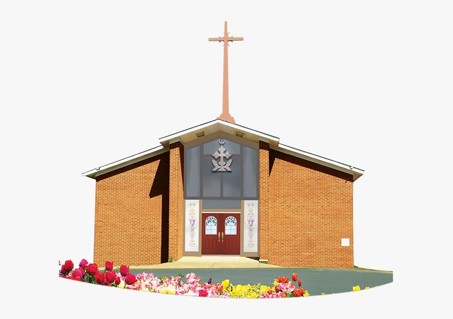 Cookout Clipart Church - Parish, Transparent Clipart