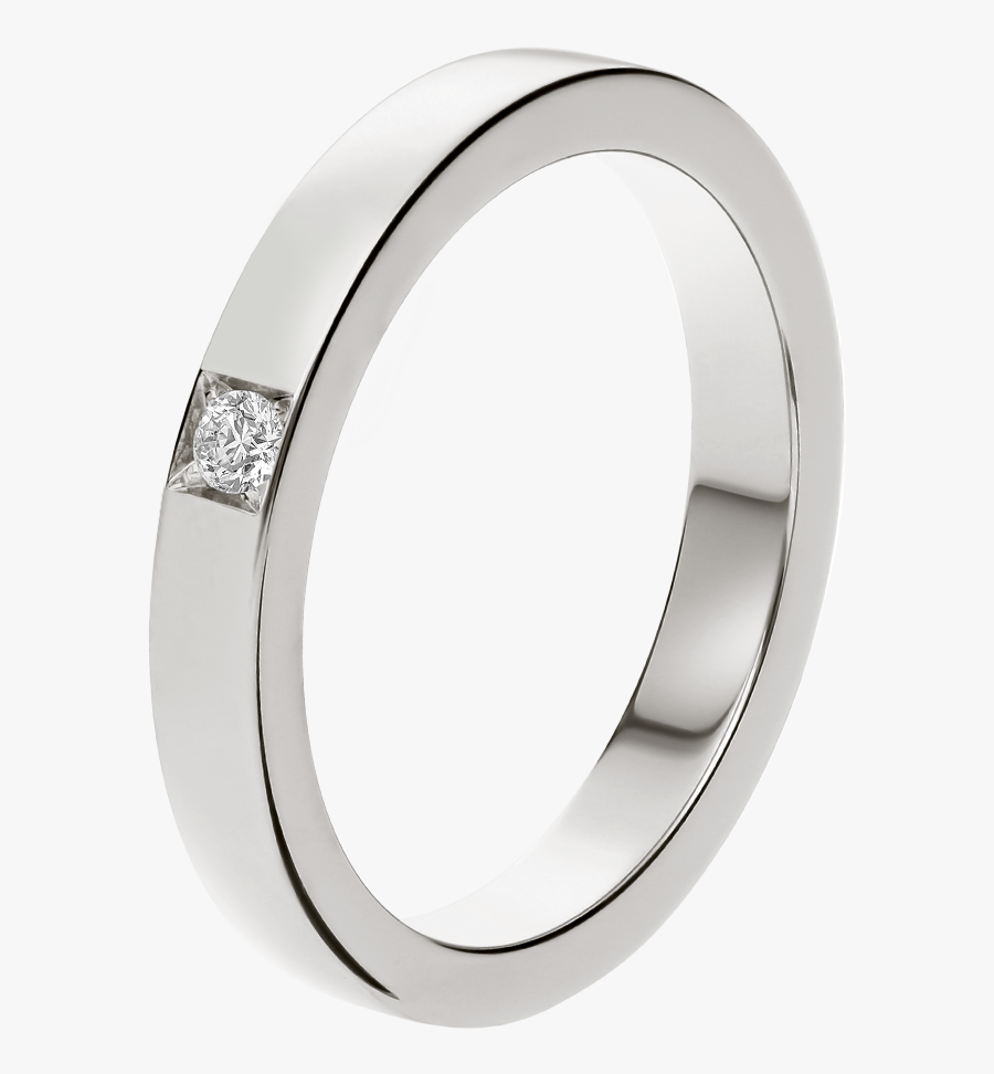 Transparent Silver Wedding Rings Png - Bvlgari Marry Me Wedding Band, Transparent Clipart