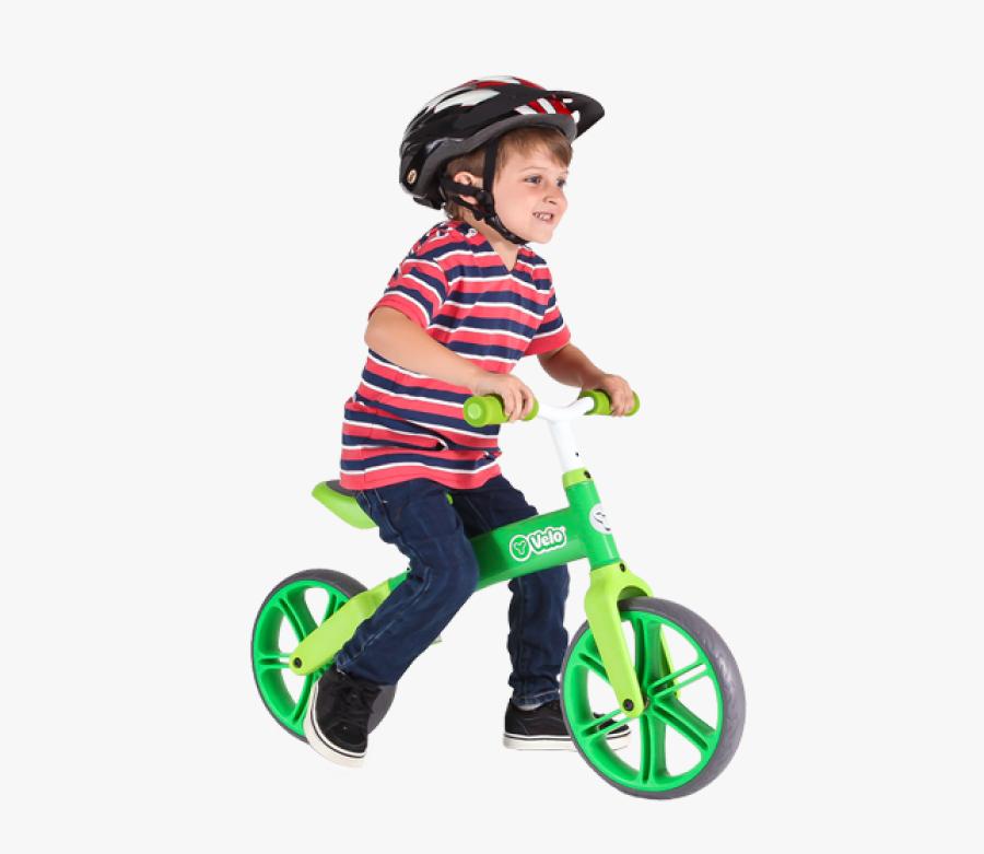 Kid Riding Bike Png - Child Bike Png, Transparent Clipart