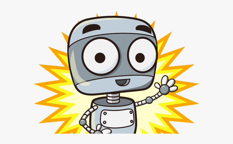 Friendly Contact Bot - Illustration, Transparent Clipart