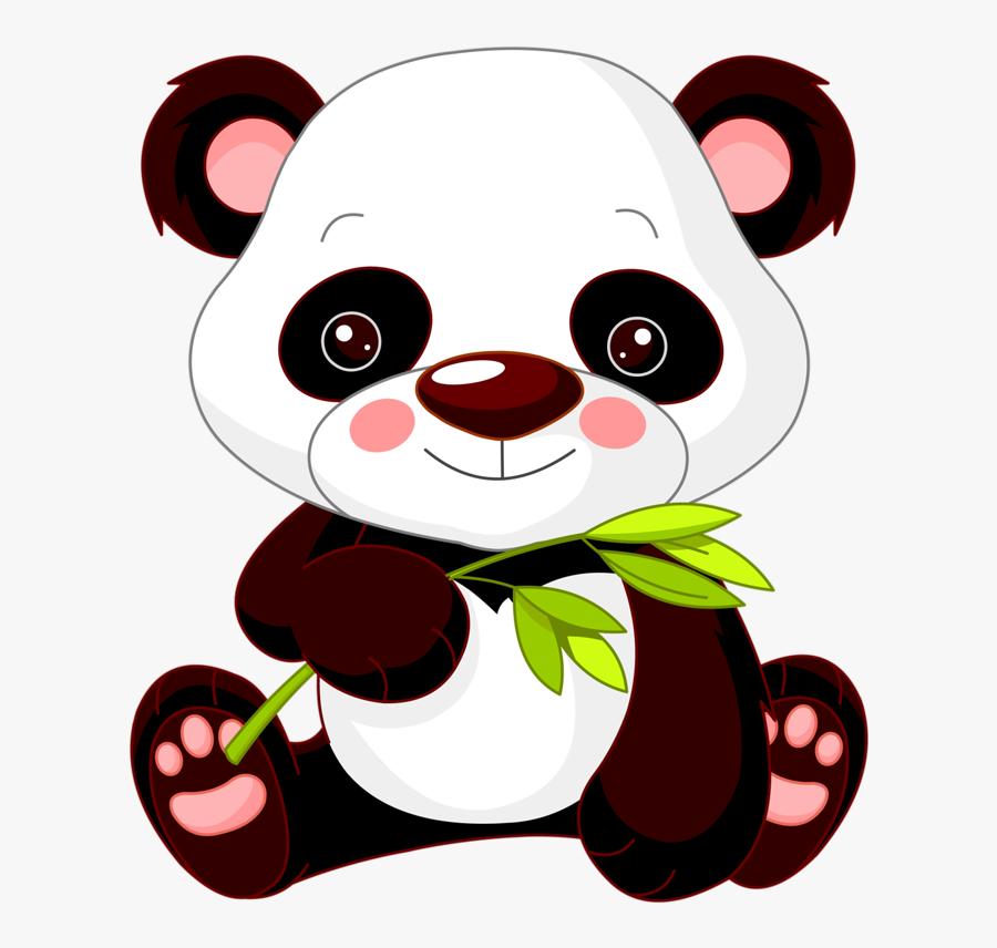 Panda Clipart Cute Baby Zoo Animal - Cute Panda Clipart, Transparent Clipart