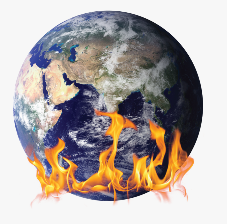 Transparent Earth On Fire Png - Planet Earth No Background, Transparent Clipart