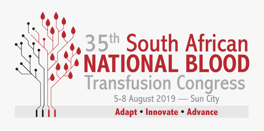 35th South African National Blood Transfusion Congress - South African National Blood Transfusion Congress, Transparent Clipart