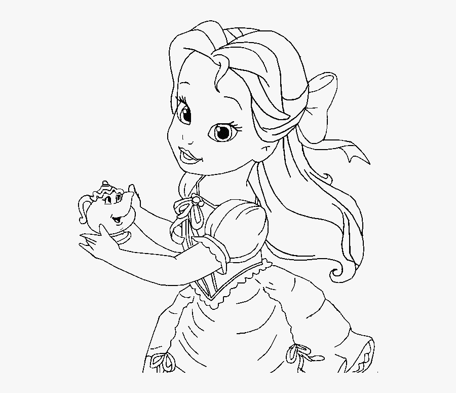 Belle Coloring Pages Little Belle Coloring For Kids - Baby ...