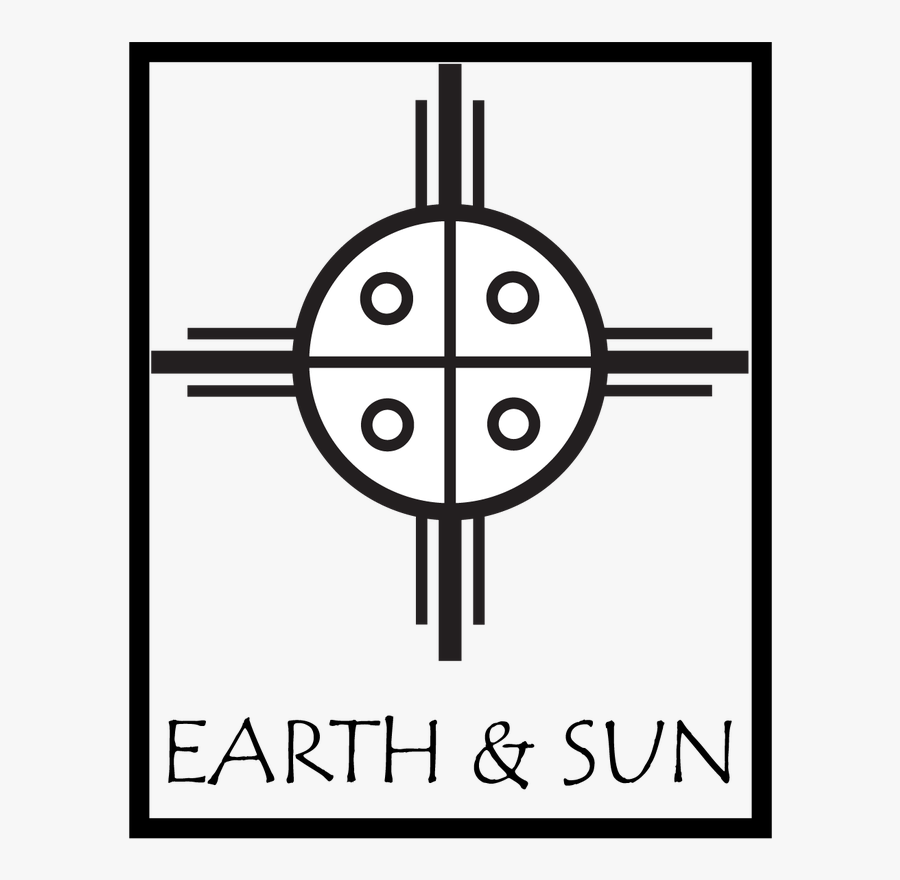 Publishing House Combining 2 Native American Symbols - Crosshair Png, Transparent Clipart